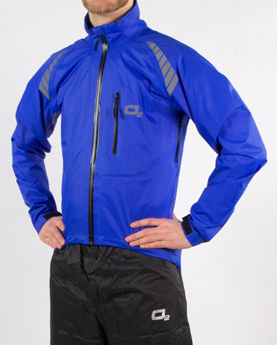 Calhoun Jacket (blue) | O2 Rainwear