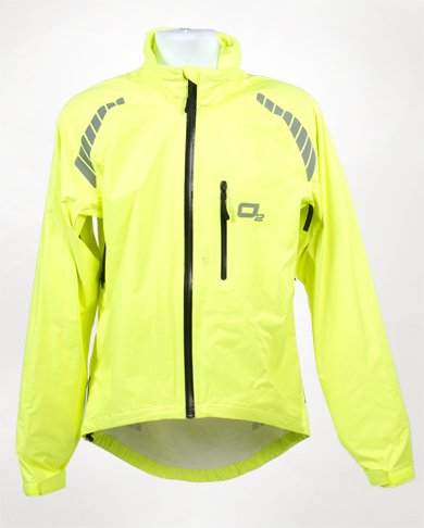 Hiviz yellow O2 Rainwear Calhoun Jacket